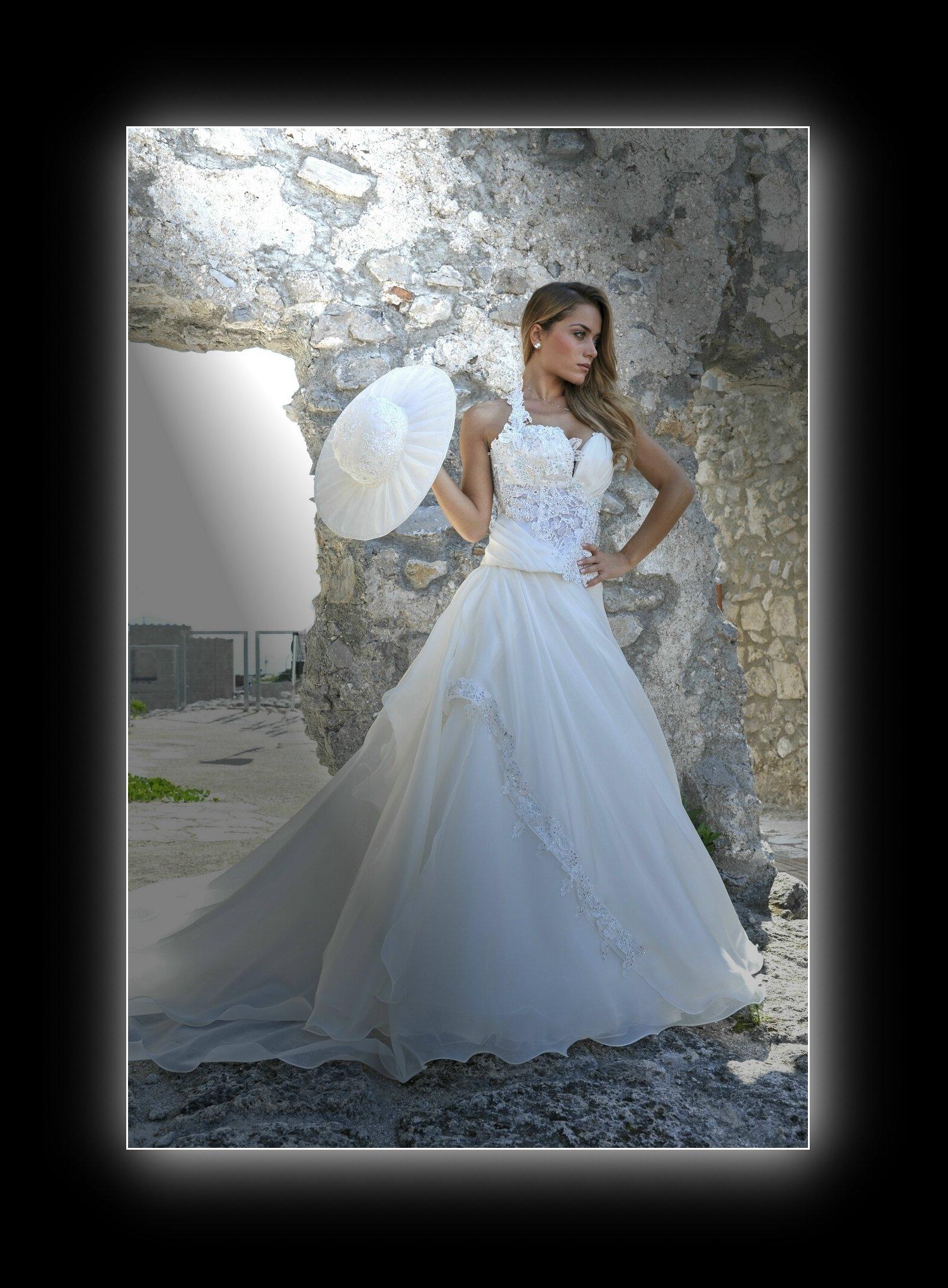 sposa con capello bianco
