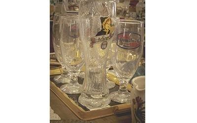 Bicchieri birra vintage