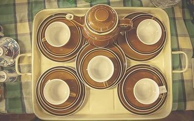 Servizio the ceramica