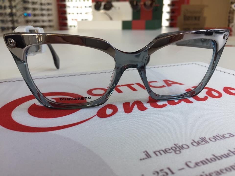 occhiali da vista argentati