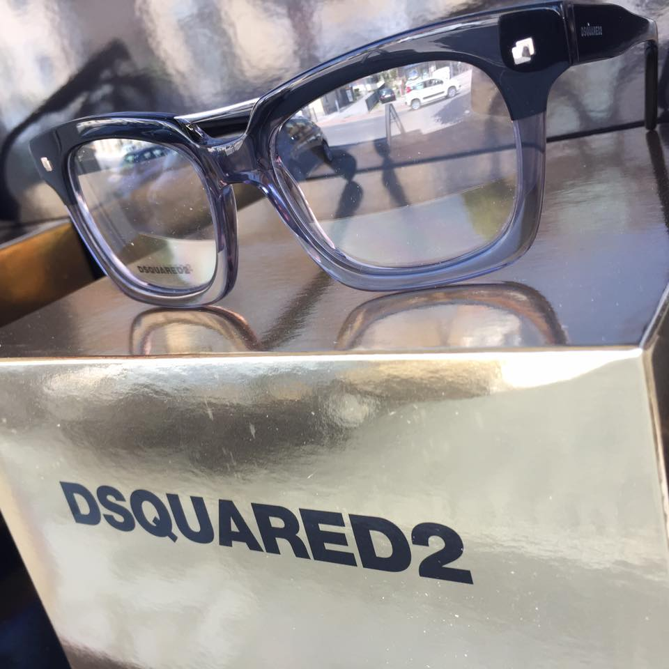 occhiali da vista DSQUARED2 scuri