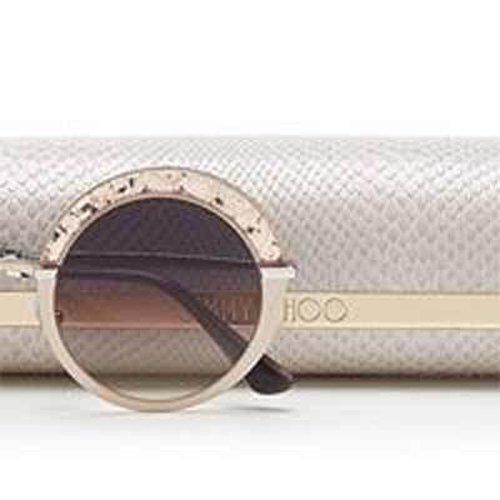 particolare di un occhiale da sole Jimmi Choo