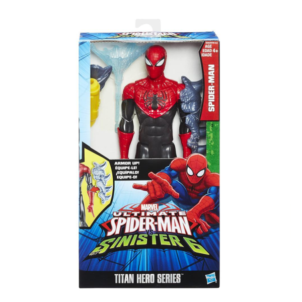 TITAN HERO SERIES SPIDER-MAN WITH GEAR