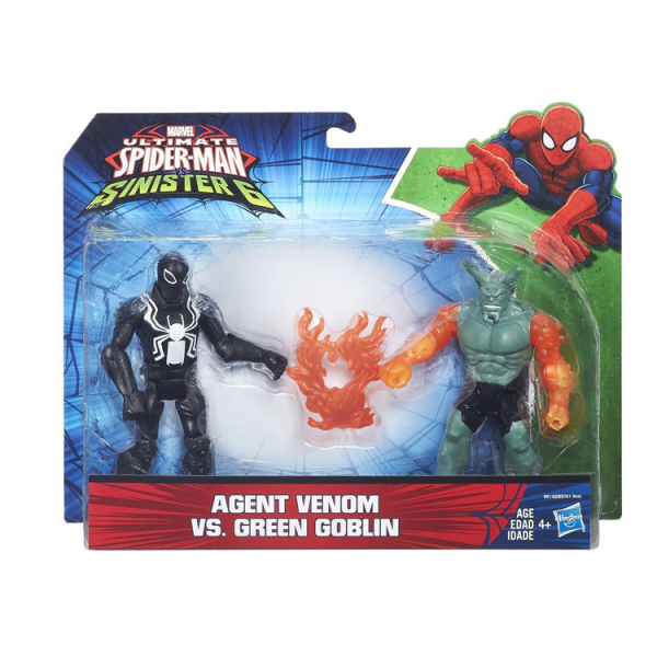 SPIDER-MAN AGENT VENOM VS GREEN GOBLIN