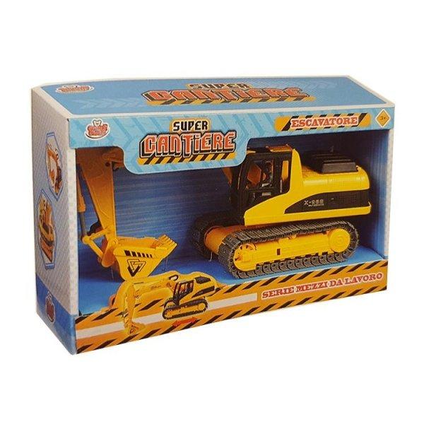 scavatrice giocattolo