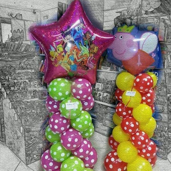 palloncini compleanno femminile