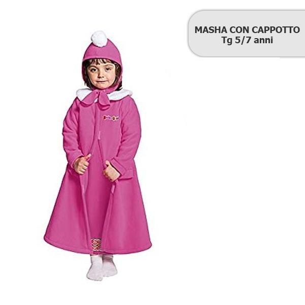 masha con cappotto