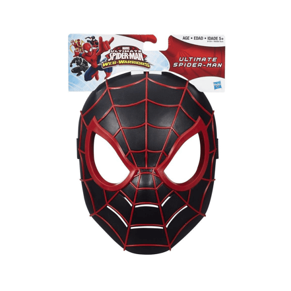 maschera spiderman nero