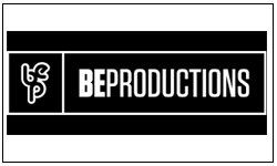 BE productions logo
