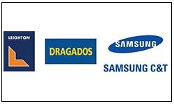 Dragados Samsung logo
