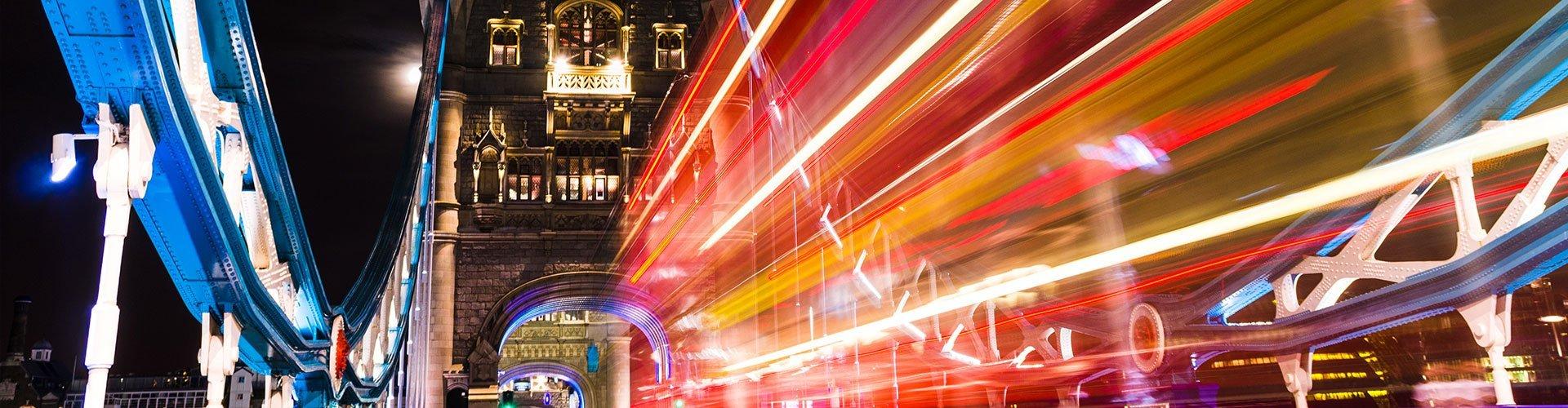 London bridge and lights