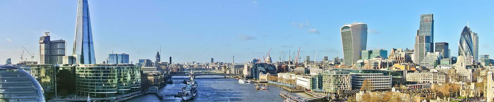 london skyline during the day
