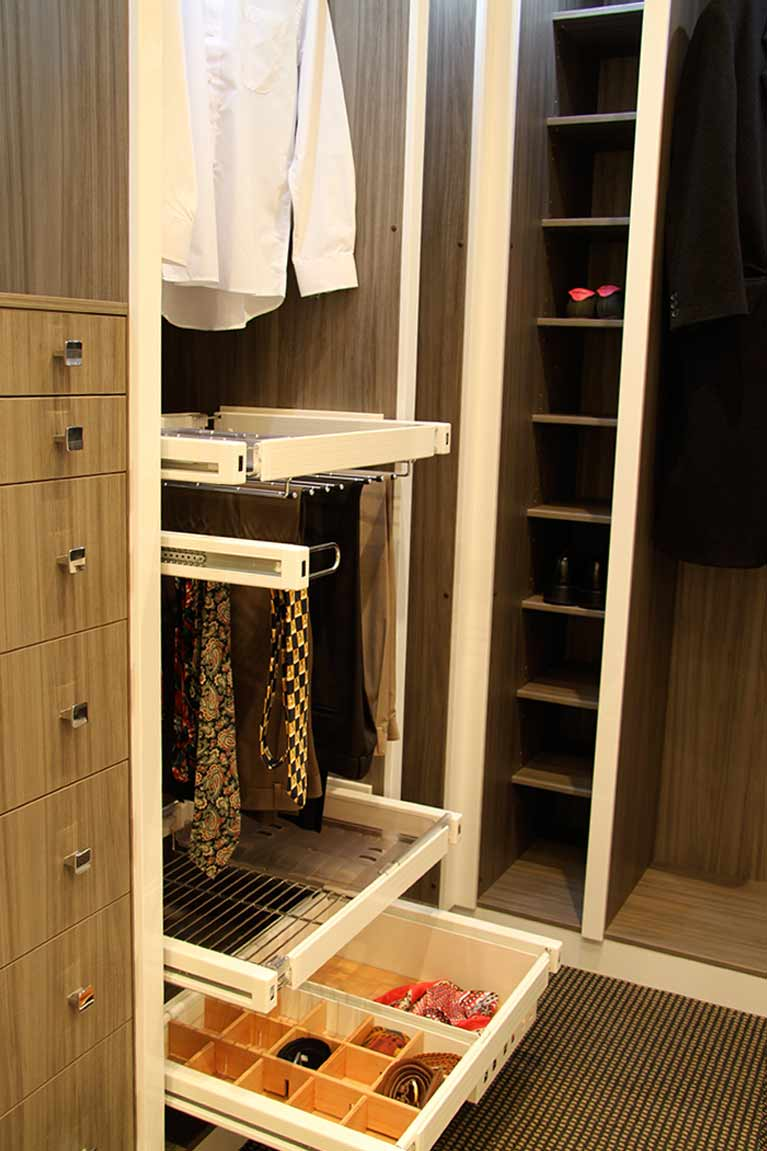 Pulse Kitchens and Interiors wardrobe cabinetry