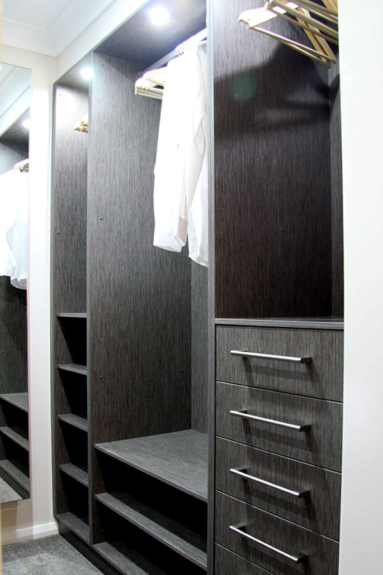 Pulse Kitchens and Interiors custom wardrobes