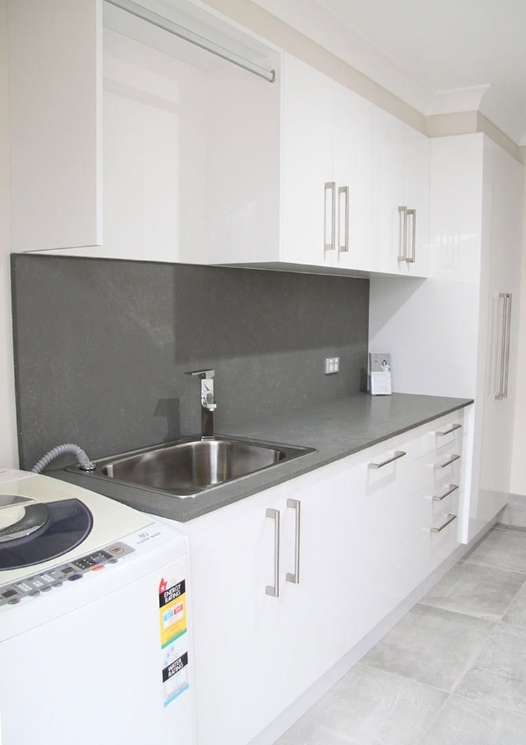 Pulse Kitchens and Interiors laundries