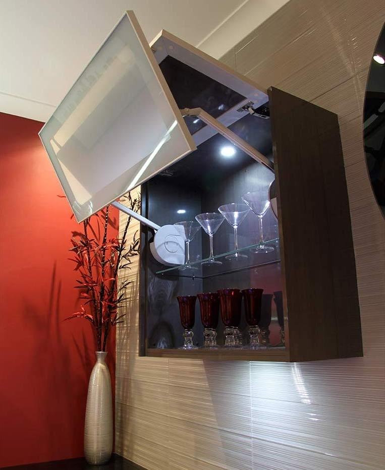 Pulse Kitchens and Interiors showroom displays