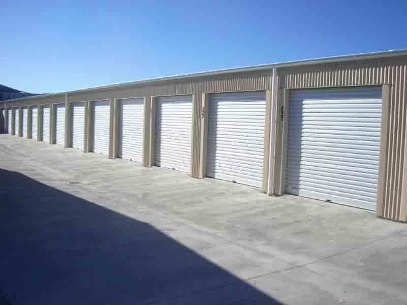 Self storage sheds