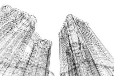lavoro per la realizzazione di un edificio