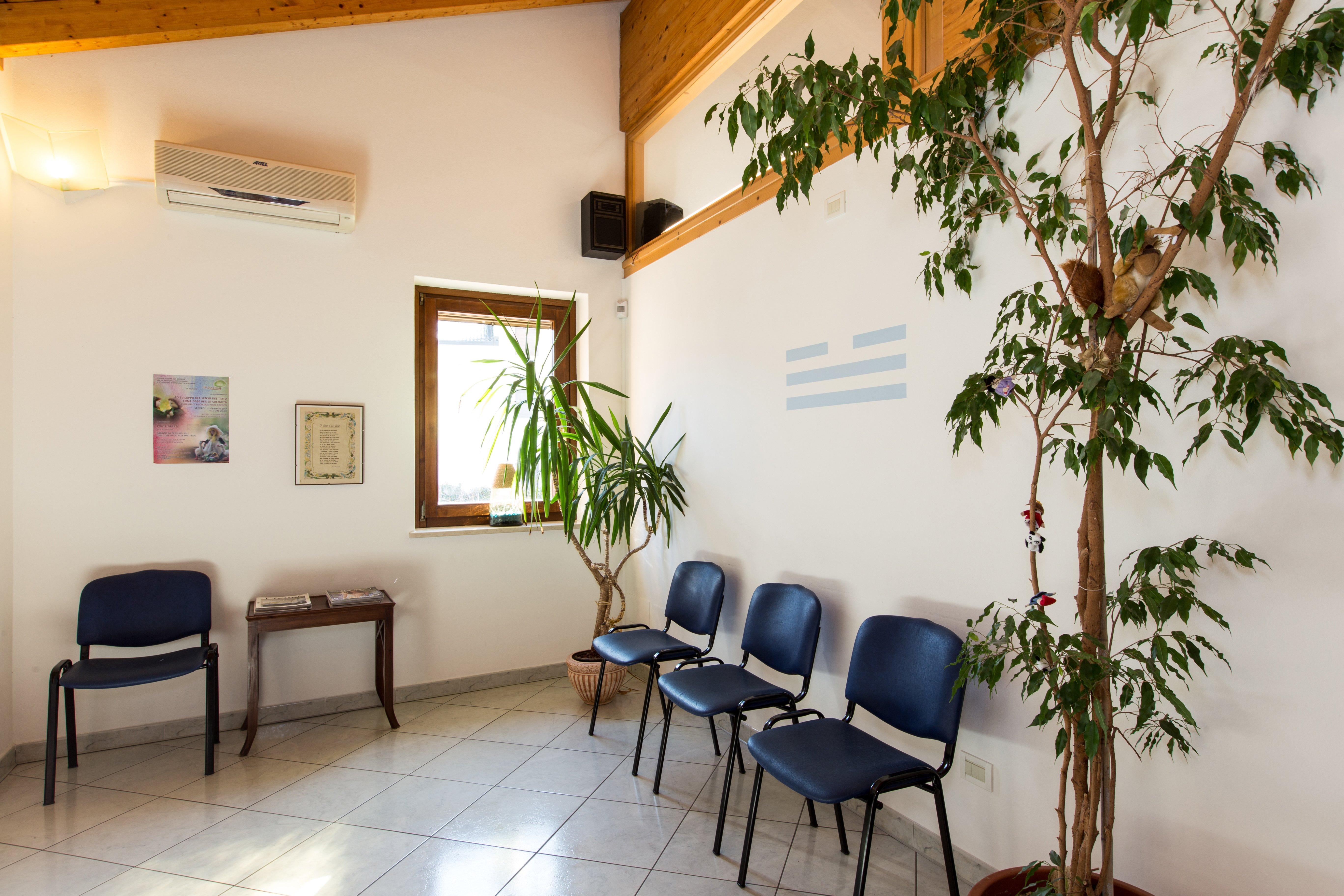 Sala d'attesa dello Studio Dentistico Benvegnù ad Arten, Belluno