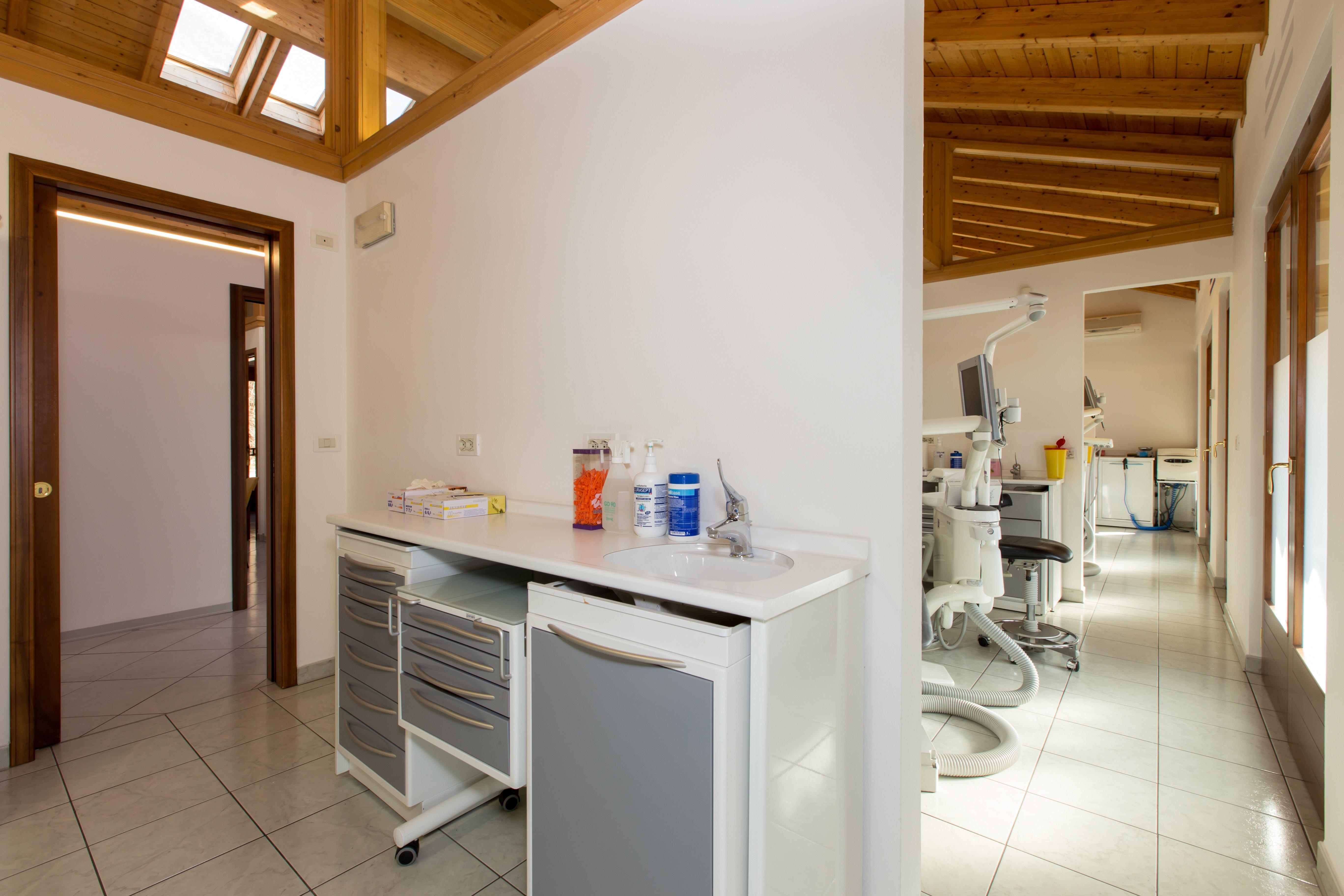 interno dello Studio Dentistico Benvegnù ad Arten, Belluno