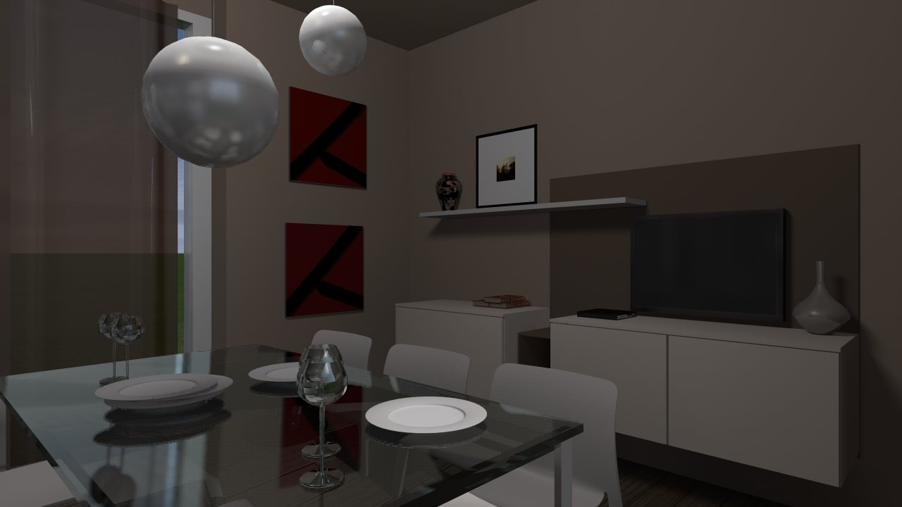 living room moderna