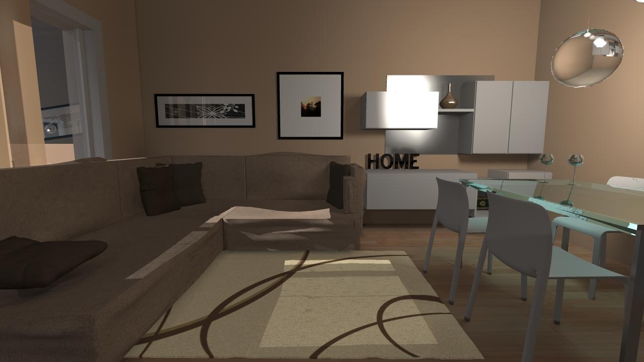 living room con divano
