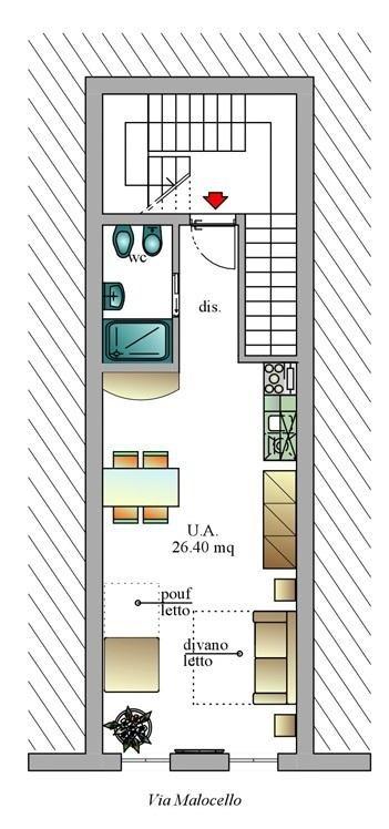 studio vacances varazze h tel villa elena. Black Bedroom Furniture Sets. Home Design Ideas