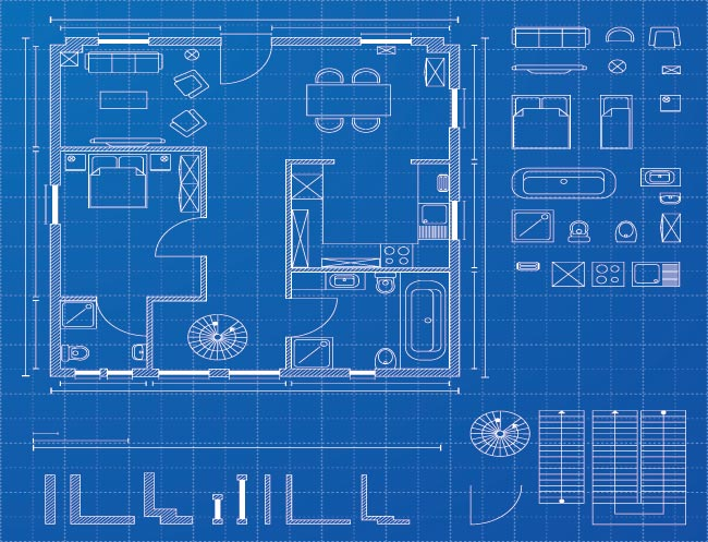 Resident Blueprints