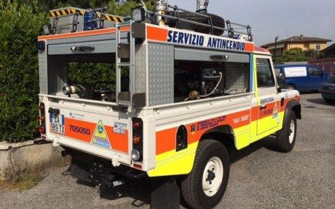 civil protection vehicles
