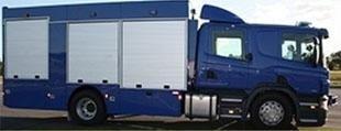 Installation of roller shutters for vans