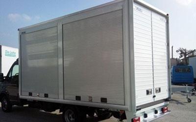 allestimento per veicoli industriali