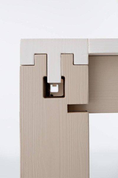 vista ravvicinata di di un tavolo allungabili