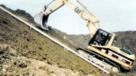 movimento terra, realizzazione discarica