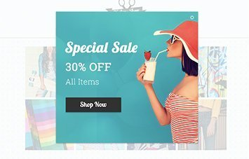 Example of a special sale promotion
