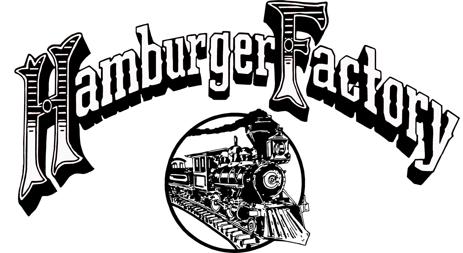 hamburger factory logo
