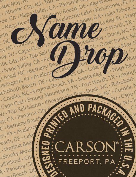 Carson Name Drop Contact Your NEST Sales Rep