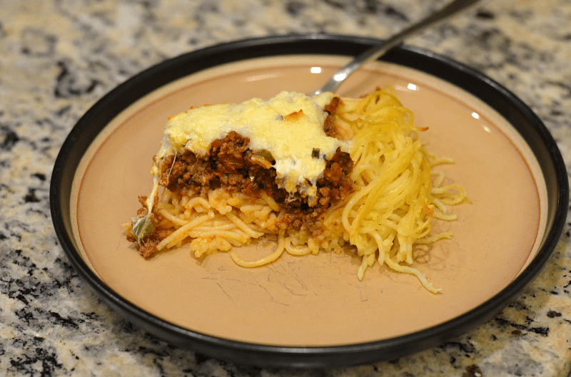 Another Simple Way To Dress Up Spaghetti