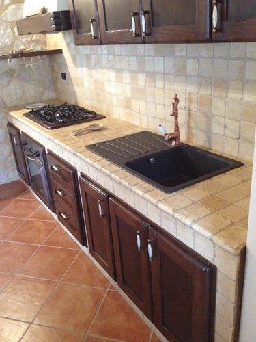 bancone di una cucina moderna