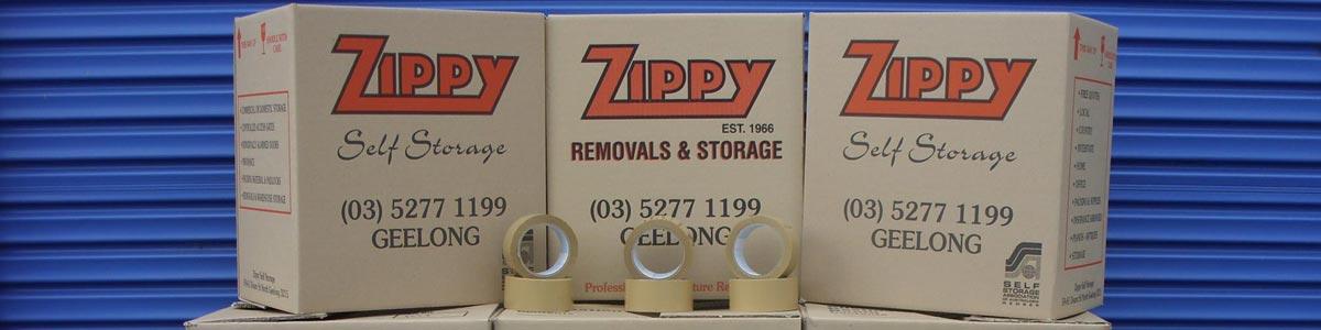 zippy self storage packing materials