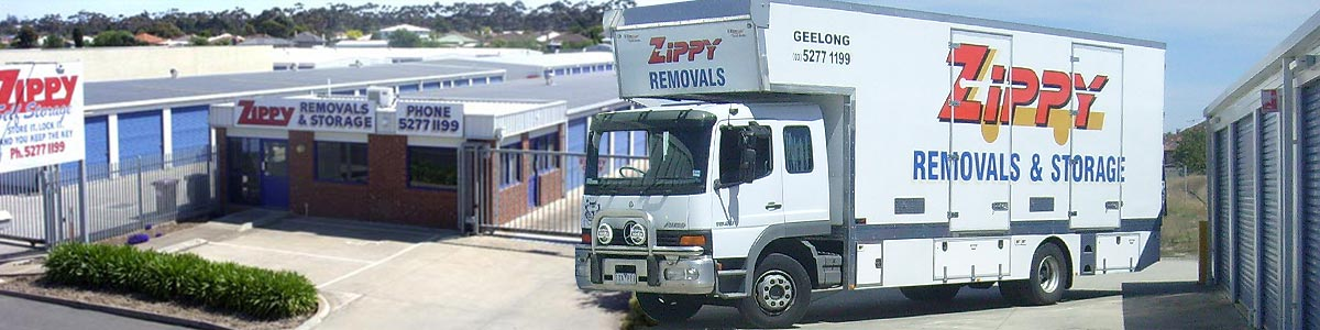 zippy self storage truck