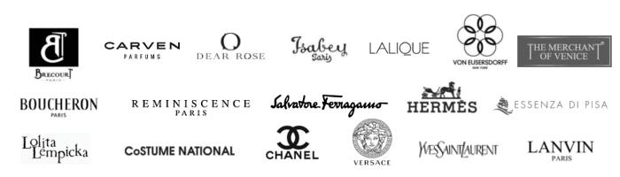 Parfümerie Ferrari, Markenparfums, Chanel, Versace, Salvatore Ferragamo