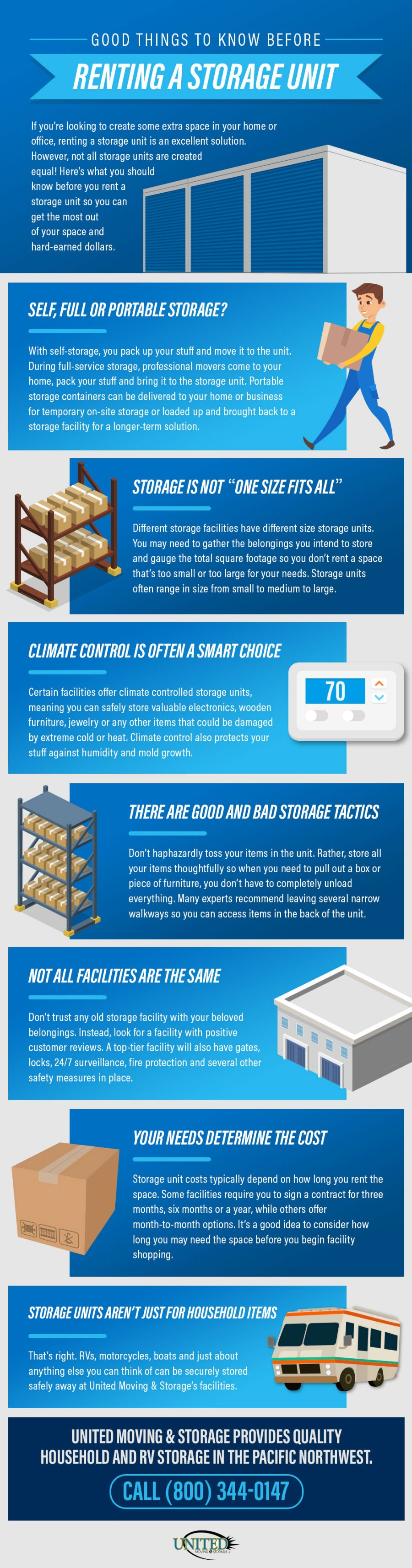 sc 1 st  United Moving u0026 Storage & Good Things to Know Before Renting a Storage Unit