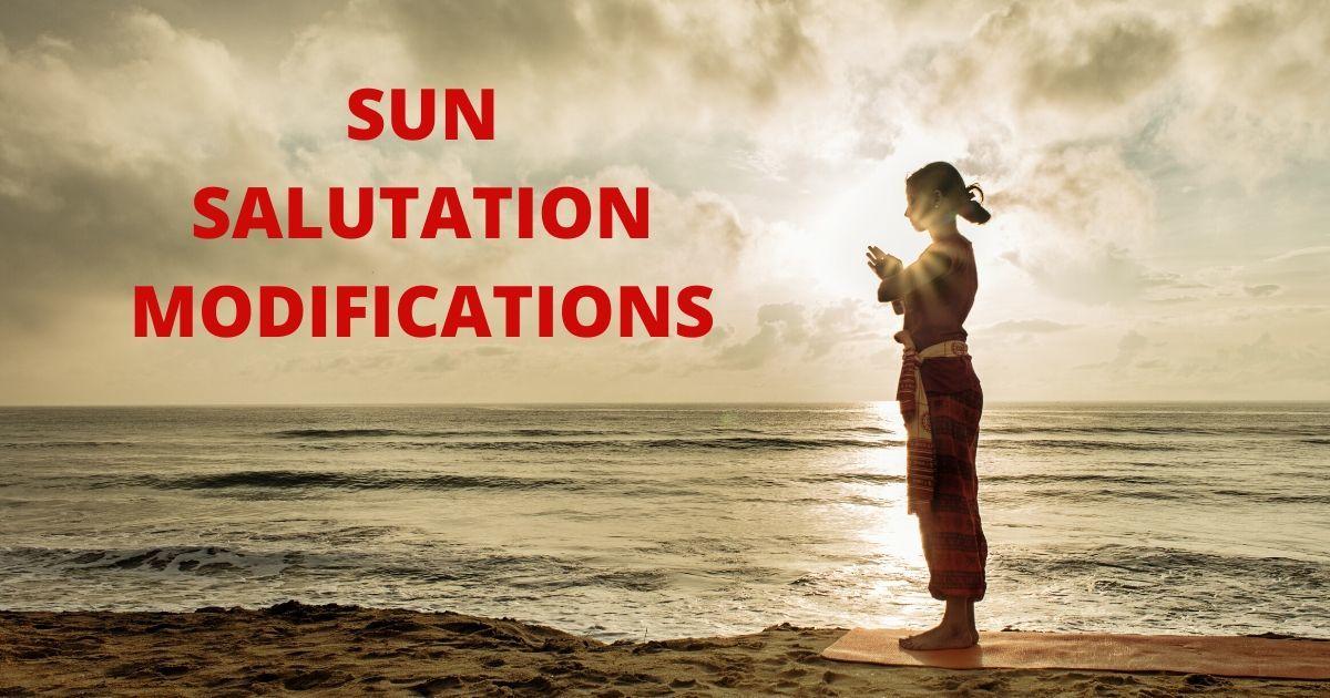 Sun Salutation Modifications