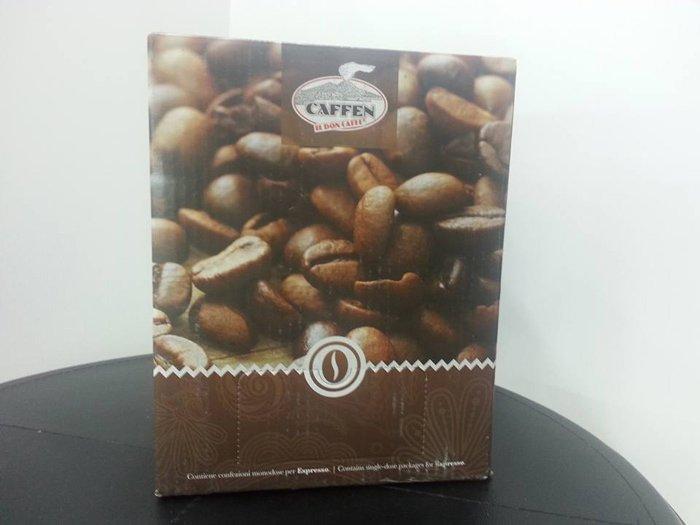 busta con chicchi di caffe