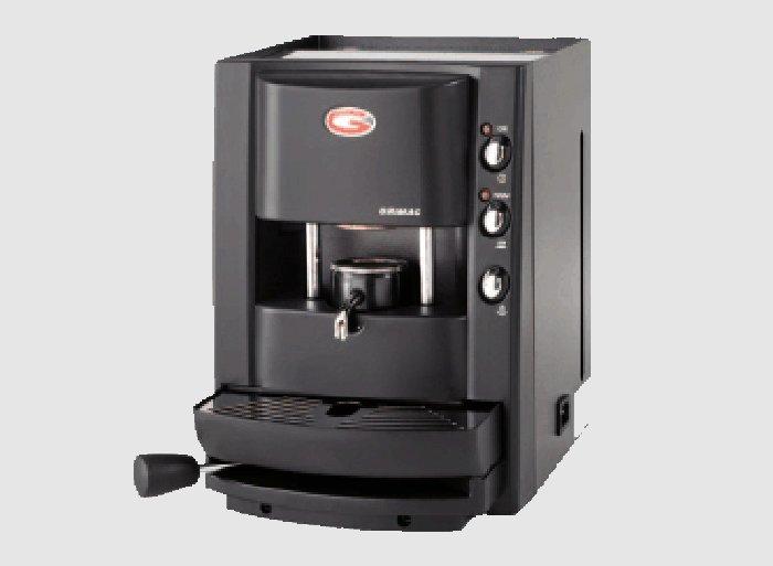 macchinetta per il caffe nera