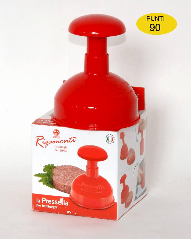 Strumento da cucina per formare hamburger