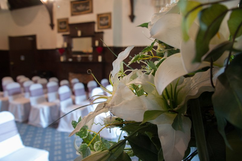 View of wedding decoration done at the Highley Manor's Wedding Venue