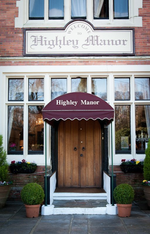 Entrance of Highley Manor