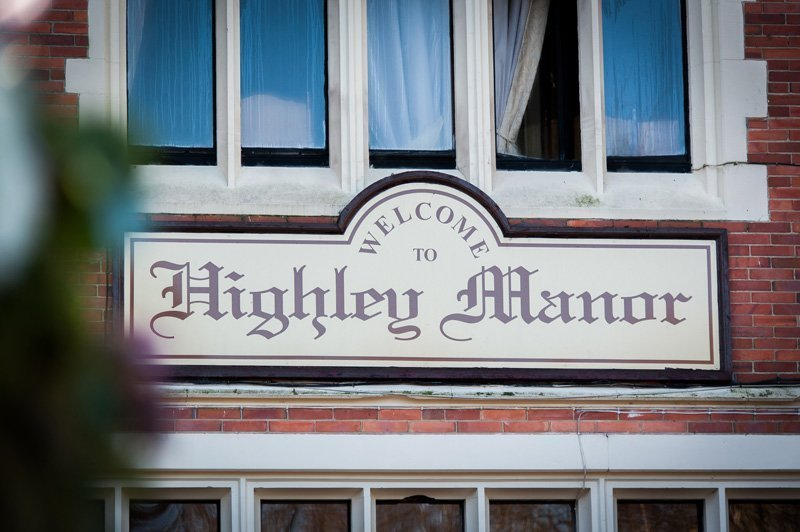Highley Manor banner