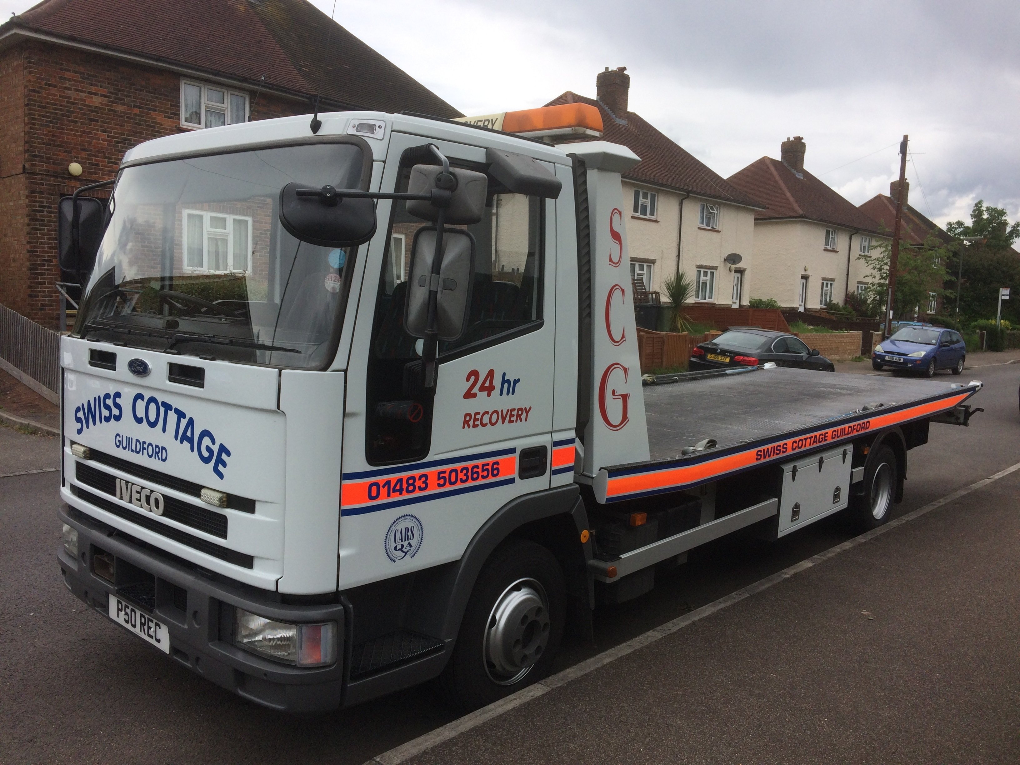 Reputable vehicle recovery specialist in Guildford